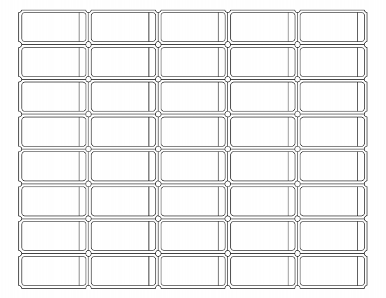 Blank Printable Raffle Ticket Template  Blank Ticket Template
