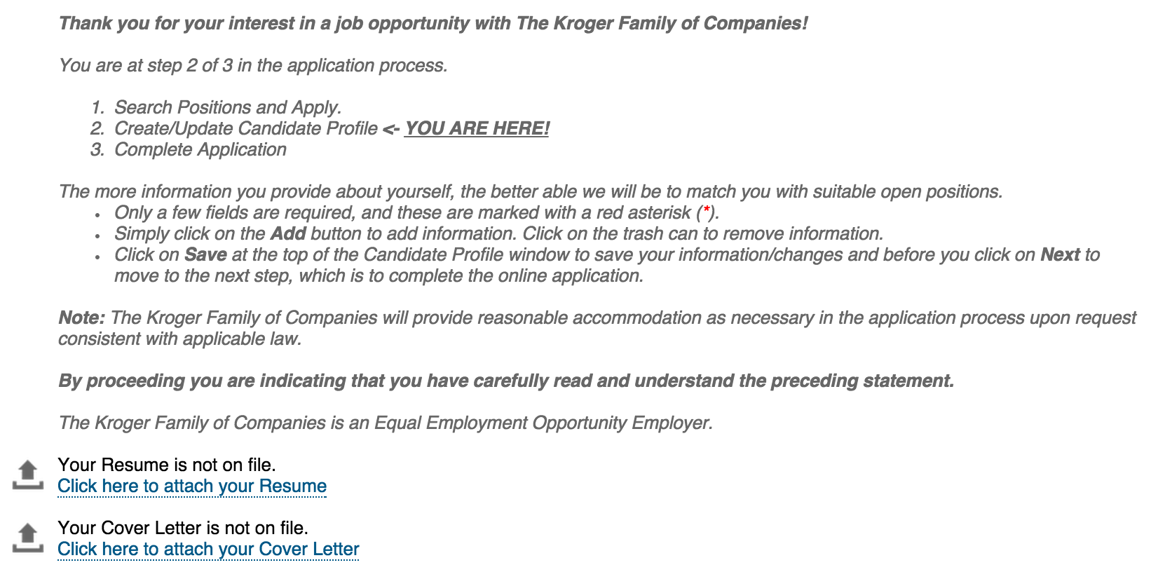 download kroger job application form