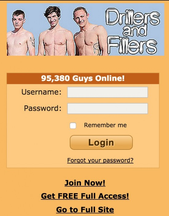 adam4adam-mobile-login-page