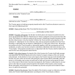 Download Georgia Revocable Living Trust Form | PDF | RTF | Word ...
