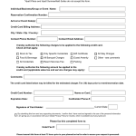 Download Hilton Credit Card Authorization Form Template | PDF ...