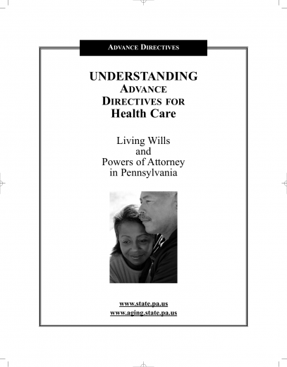 Download Pennsylvania Living Will Form – Advance Directive | PDF ...