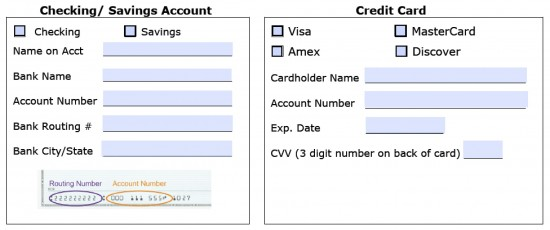 Download Recurring Payment Authorization Form Template  Credit Card