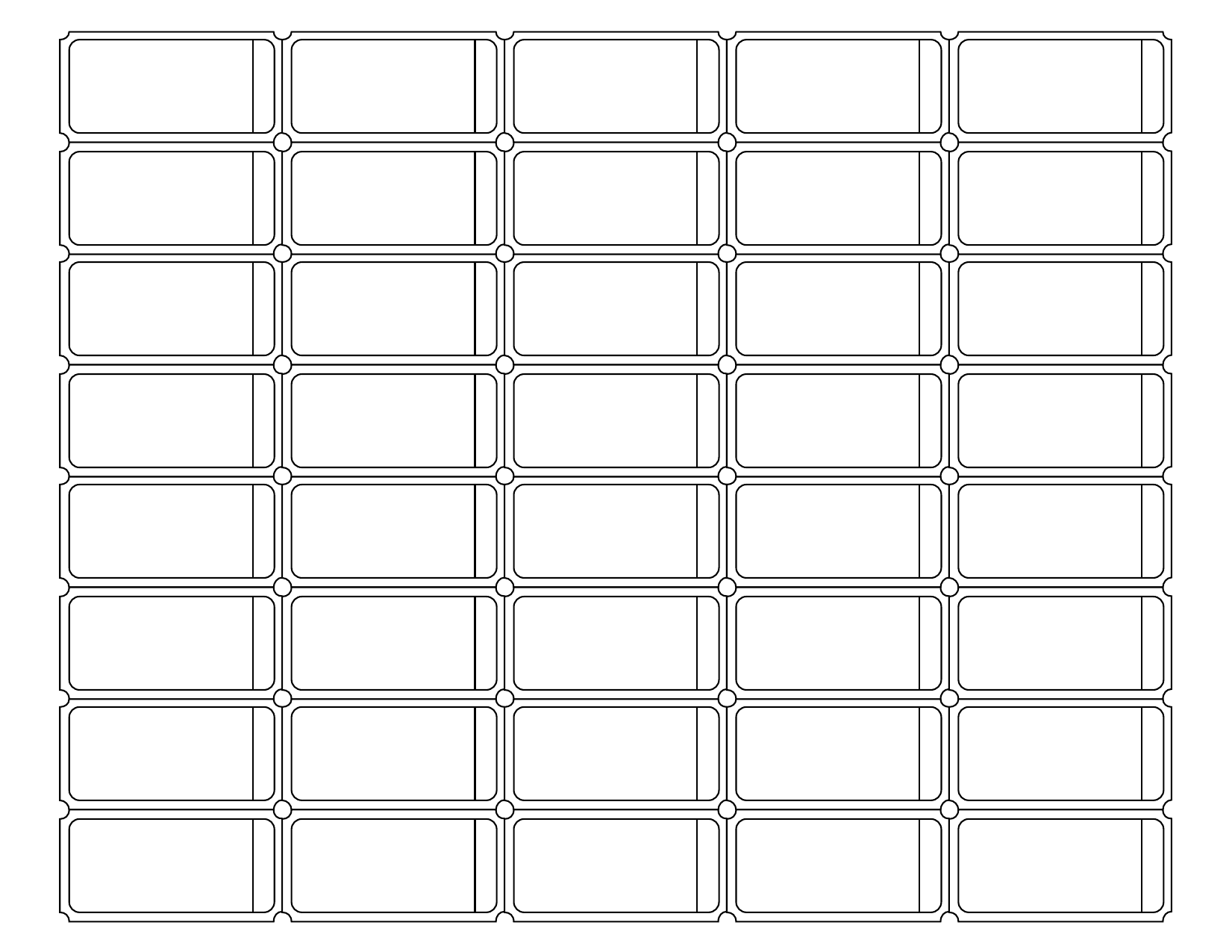 Blank Printable Raffle Ticket Template