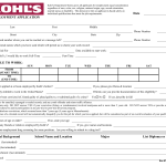 image about Kohls Printable Applications referred to as Obtain Kohls Endeavor Software package Type PDF