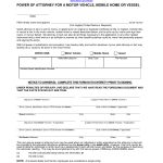 power of attorney form 82053  Download Florida Vehicle Power of Attorney | Form HSMV 7 ...