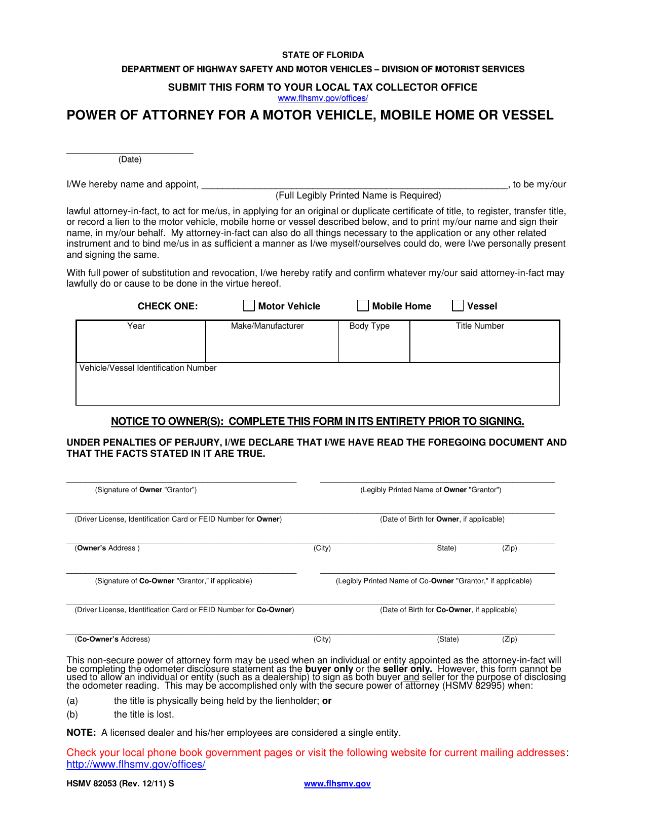 florida-vehicle-power-of-attorney-form-HSMV-82053.pdf Vehicle Expense Report Form on vehicle inventory report, vehicle damage report, vehicle incident report, vehicle accident report,