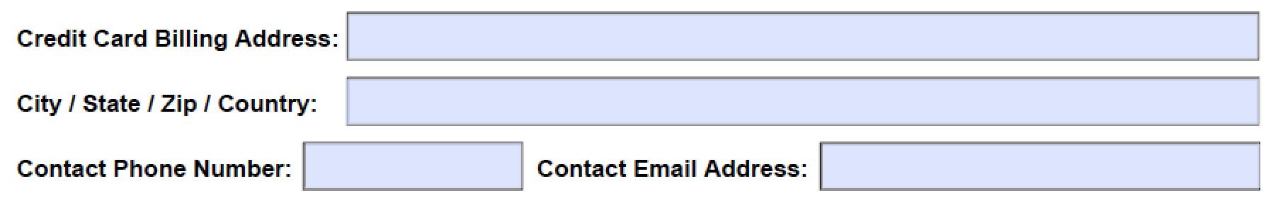 download hyatt credit card authorization form template
