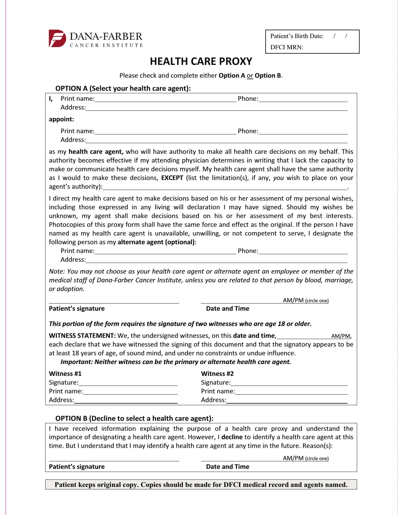 download massachusetts living will form  u2013 advance